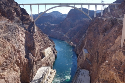 Hoover Dam in der Nähe von Las Vegas (Alexander Mirschel)  Copyright  License Information available under 'Proof of Image Sources'