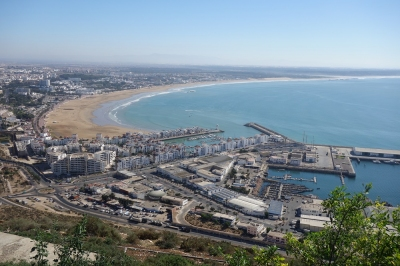 Bucht von Agadir (Alexander Mirschel)  Copyright  License Information available under 'Proof of Image Sources'