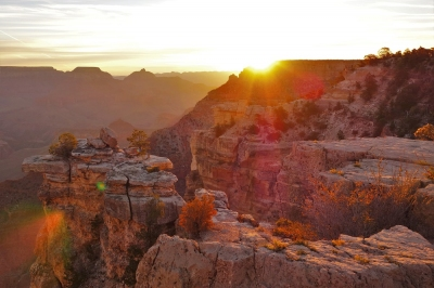 Sonnenaufgang am Grand Canyon (Alexander Mirschel)  Copyright  License Information available under 'Proof of Image Sources'