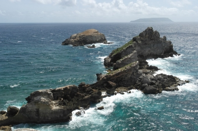 Pointe des Chateaux Guadeloupe (Alexander Mirschel)  Copyright  License Information available under 'Proof of Image Sources'