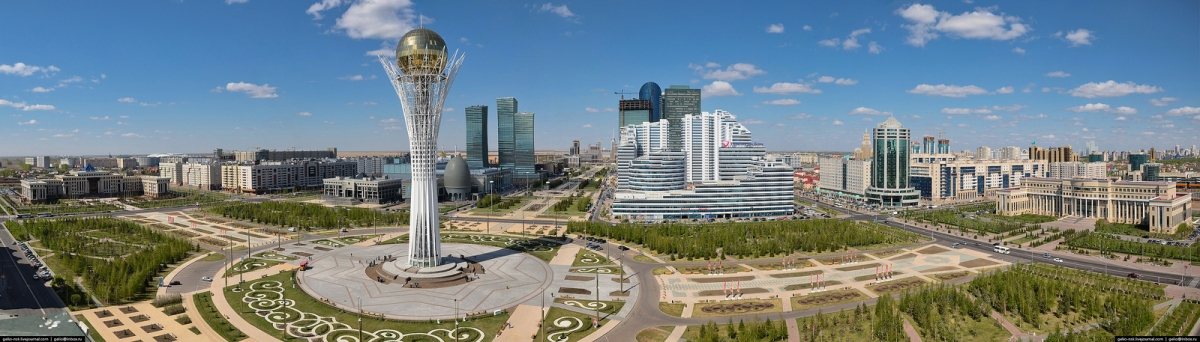 Astana Panoramic (Torekhan Sarmanov)  [flickr.com]  CC BY  License Information available under 'Proof of Image Sources'
