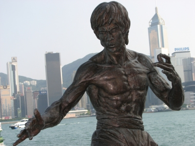 Bruce Lee Statue, Hong Kong (Ian Muttoo)  [flickr.com]  CC BY-SA  License Information available under 'Proof of Image Sources'