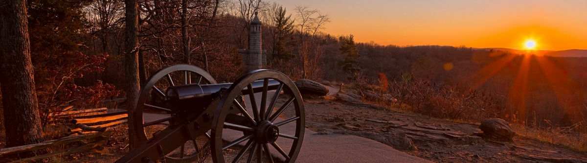 Gettysburg Sunset Cannon - HDR (Nicolas Raymond)  [flickr.com]  CC BY  License Information available under 'Proof of Image Sources'