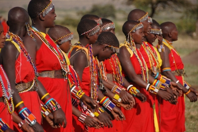 Masai Mara Tribe Women 2 (Dylan Walters)  [flickr.com]  CC BY  License Information available under 'Proof of Image Sources'