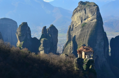 Meteora (Javier Vieras)  [flickr.com]  CC BY  License Information available under 'Proof of Image Sources'