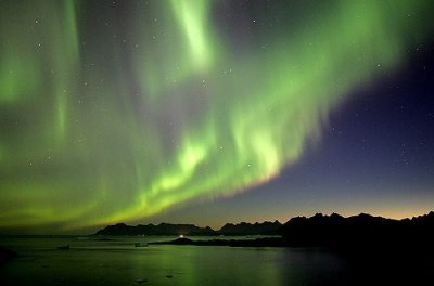 Northern Lights, Greenland (Nick Russill)  [flickr.com]  CC BY  License Information available under 'Proof of Image Sources'