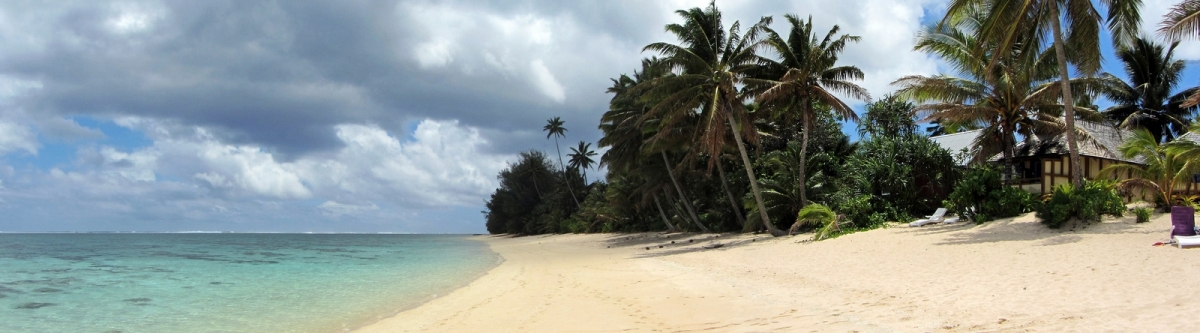 Palm Grove's Beach, Vaimaaga, Rarotonga (482077) (Robert Linsdell)  [flickr.com]  CC BY  License Information available under 'Proof of Image Sources'