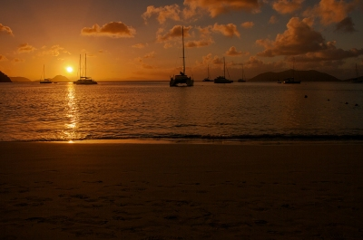 Sunset at Cane Garden Bay - British Virgin Islands (bvi4092)  [flickr.com]  CC BY  License Information available under 'Proof of Image Sources'
