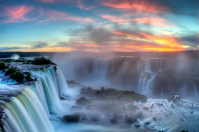 Sunset over Iguazu (SF Brit)  [flickr.com]  CC BY  License Information available under 'Image Sources'