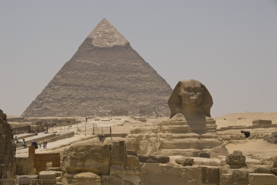 The Great Pyramid and Sphinx, Egypt (S J Pinkney)  [flickr.com]  CC BY  License Information available under 'Proof of Image Sources'