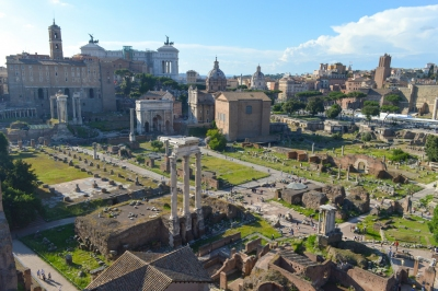 The Roman Forum (Francisco Anzola)  [flickr.com]  CC BY  License Information available under 'Proof of Image Sources'