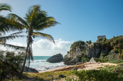 Tulum ruins (Andrea Schaffer)  [flickr.com]  CC BY  License Information available under 'Proof of Image Sources'